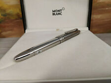 MONTBLANC Meisterstuck Solitaire Stainless Steel II LeGrand Fountain Pen, NOS!