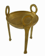 Bronze polished decorated tripod artifact