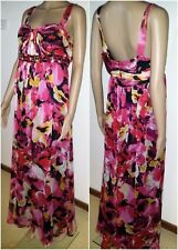 EVENTS Collection Size 14  Black Floral Maxi Dress