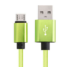 Micro USB Fast Charger Data Sync Cable Nylon Braided Cord for Samsung Android LG