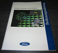 Manual de instrucciones de ford auto radio 3000 traffic 4000 5000 RDS-eon 7000 2060 CD