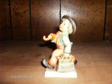 "Vintage Merry Wanderer 4 1/8"" 11 2/0 W Germany Boy Umbrella Briefcase Hummel"