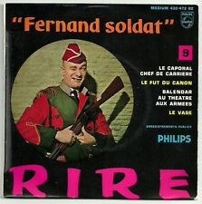 RAYNAUD Fernand 45T EP SOLDIER KAPORAL CHEF No.9 F Reduced