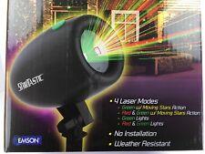 Outdoor decorations - holiday lights - Star Tastic Laser Light Show - $59 MSRP