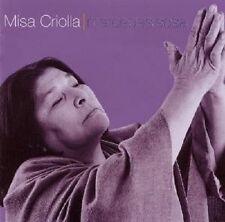 "MERCEDES SOSA ""MISA CRIOLLA"" CD NEUWARE"