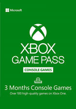 Xbox Game Pass for Console 3 Month Membership Code key for Xbox One & win 10