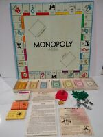 Vintage 1961 Monopoly Board Game Parker Brothers /GM  Classic Original Complete