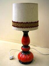 Belle Années '70 Lampadaire, Lampe De Table, Lave Céramique, Culte Design