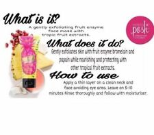 Perfectly Posh ~Pineapple Pick-Me-Up Face Mask ~ New