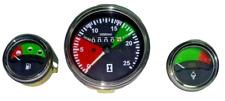 massey ferguson tractor oil pressure temperature tachometer gauge set