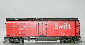 Roundhouse 40' Meat Reefer ~ SWIFT ~ Built Kit Rd# SRLX 12000 - KD's - RARE - HO