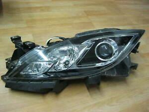 Scheinwerfer links Mazda 6 GH Hauptscheinwerfer Halogen Frontscheinwerfer