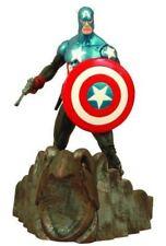 Figurines et statues de télévision, de film et de jeu vidéo Diamond Select en emballage d'origine scellé avec captain america