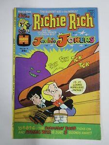 RICHIE RICH AND JACKIE JOKERS #10 (Harvey, 4/1974) VERY GOOD PLUS (VG+)