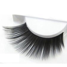 Handmade Thick Extension Fashion Eye Lashes Colorful False Eyelashes Plus Long