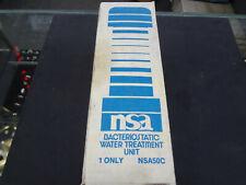 NSA 50C Dacteriostatic Water Treatment Unit