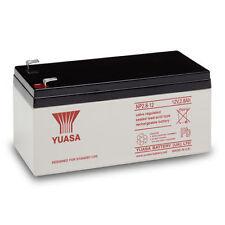 Genuine YUASA 12 Volt 2.8ah/3.3 Ah Ricaricabile Allarme/Sicurezza Batteria