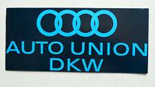Prospekt Auto Union DKW Junior/de Luxe,1000 Lim./Coupe/S/Universal,Sp, Munga, 62