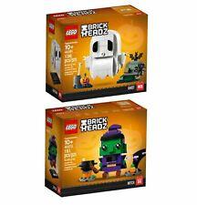 LEGO BrickHeadz 40272 Halloween Hexe & 40351 Halloween Gespenst - NEU & OVP💎