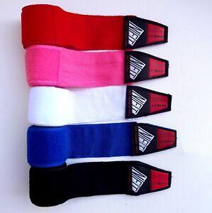 NFT 3.5M Hand Wraps MMA Boxing Inner Gloves Bandages Training Muay Thai Sport UK