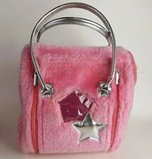 "Battat Pucci Pups Pink Carrier Bag with Star Applique 9"" Tall  9"" Long"