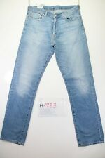 Levi's 504 (Cod. H1983) Tg48 W34 L36 jeans usato Vita Alta vintage