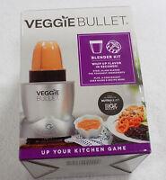 Veggie Bullet Blender Kit 4 Piece Set New Extra Blade Cup Lid Ribbon Spiralize