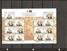 KOREA-PORTUGAL JOINT ISSUE-2011-50 YEARS OF DIPLOMATIC RELATIONS- MINT SHEET