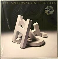 REO Speedwagon The Hits Audiophile Translucent Gold Vinyl Record Album LP R.E.O