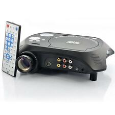 LED Multimedia Projector with DVD Player - 480x320, 20 Lumens, 100:1 New