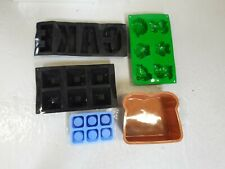 5 Mixed Silicone Moulds