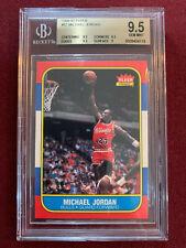Michael Jordan 1986 Fleer Rookie Card RC BGS 9.5 Gem Mt Chicago Bulls GOAT!