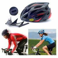 MOON Adult MTB Bicycle Bike Outdoor Cycling Helmet with Snap-on Visor Road Mount