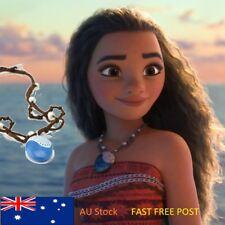Disney Movie Princess Moana Magical Seashell Necklace Jewelry Kids Cosplay Toys