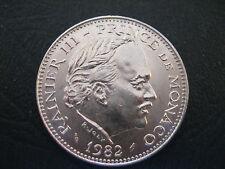 @ 1 Pièce de 5 Francs  Monaco 1982  @