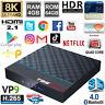 T95MAX+ 8K UHD 4G 64G Android 9.0 TV Set Top Box HDMI HDR HEVC VP9 5G WiFi BT PC