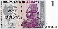 Bank of Zimbabwe 1 Dollar uncirculated banknote 2007 uncirculated (22)