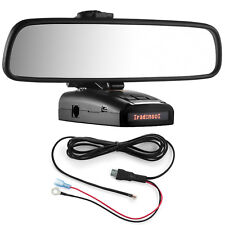 Mirror Mount Bracket + Direct Wire Power Cord for Radenso XP SP