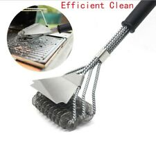 """17"""" Stainless Steel Bristle Free Grill Brush Scraper Tool For Cleaning BBQ Shelf"""