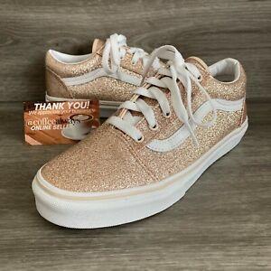 Las mejores ofertas en Zapatos atléticos de oro brillo VANS para ...