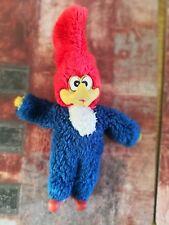 Woody The Woodpecker Vintage Plush Toy Stuffed Animal Doll