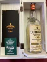LAPHROAIG Empty Bottle Islay Single Malt Scotch Whiskey Limited Edition rare