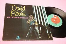 "DAVID BOWIE LP 10"" DON'T BE FOOLED ORIG UK 1981 EX !!!!!!!!!!!!!!!!!!!!!!"