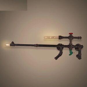 Wall Light New Vintage Retro Industrial Machine Gun Modern Style Chandelier