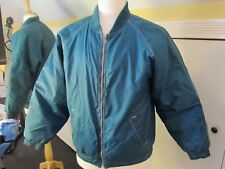 vtg MIGHTY MAC Boys XL 18 green jacket full zip GUC