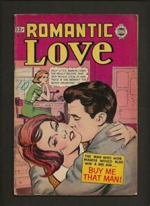 Romantic Love #11 VG- 3.5 1963 I.W./Super Comics Reprint High Res Scans