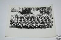 WOW Vintage US Soldiers Squadron WWII Black & White 1940s Photo Photograph Rare