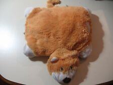 "12"" x 9"" plush Otter by Pillow Pets Pee Wees, good condition"