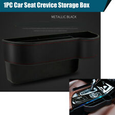 Car Seat Crevice Storage Box Cup Holder Key Cigarette Card Organizer PU Leather