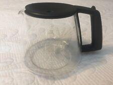 Braun FlavorSelect KFK10FL Black 10-Cup Glass Coffee Carafe Replacement